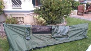 Back Pack Bed and Tent